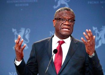 El ganador de un Nobel Denis Mukwege ha atendido a unas 50.000 víctimas de la violencia sexual y creó un fondo para ofrecer compensaciones a sobrevivientes de conflictos en todo el mundo. (Lise Aserud/NTB scanpix via AP, Archivo)