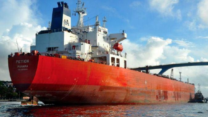 Petion, uno de los buques sancionados. Foto: PDVSA