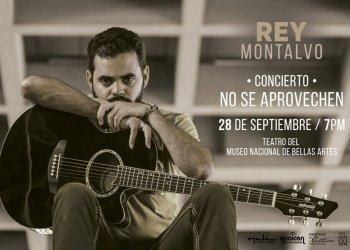 Concierto de Rey Montalvo en Bellas Artes