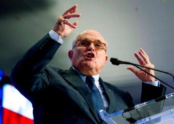 Rudy Giuliani, abogado del presidente Donald Trump, habla en Washington. Foto: Andrew Harnik / AP / Archivo.