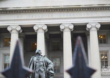 Departamento del Tesoro estadounidense. Foto: Marita Përez Díaz.