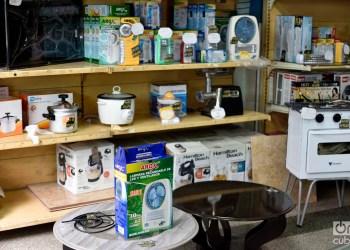 Productos en una tienda cubana. Foto: Otmaro Rodríguez.