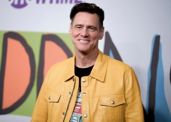 "El actor canadiense Jim Carrey asiste al estreno de ""Kidding"" en Los Angeles, en 2018. Foto: Richard Shotwell/Invision/AP/ Archivo."