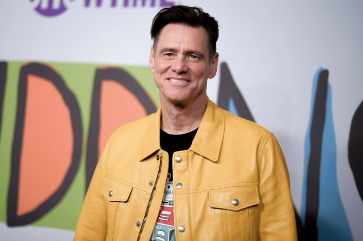"""El actor canadiense Jim Carrey asiste al estreno de """"Kidding"""" en Los Angeles, en 2018. Foto: Richard Shotwell/Invision/AP/ Archivo."""