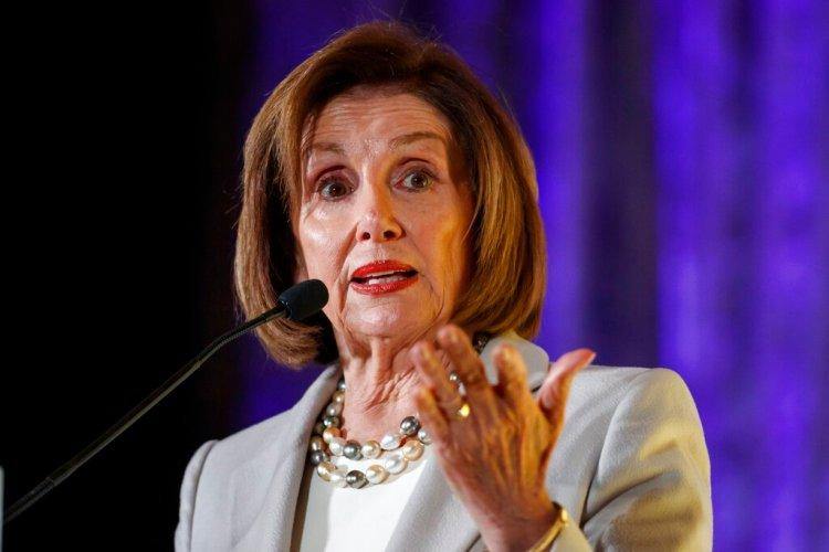 La presidenta de la Cámara de Representantes, Nancy Pelosi, durante un evento en Washington, el jueves 17 de octubre de 2019. Foto: Alex Brandon/AP.