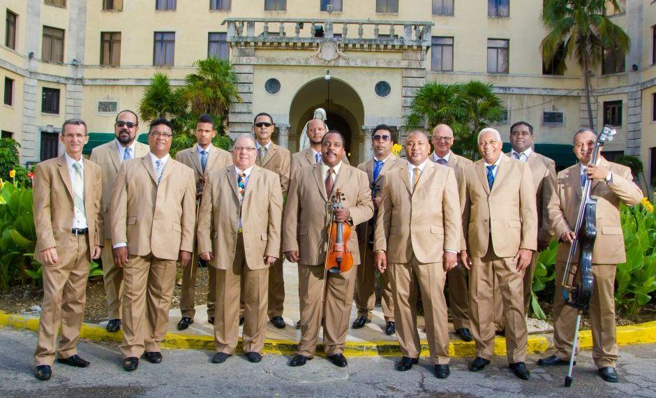 Orquesta Aragón. Foto: Rafael Valiente.