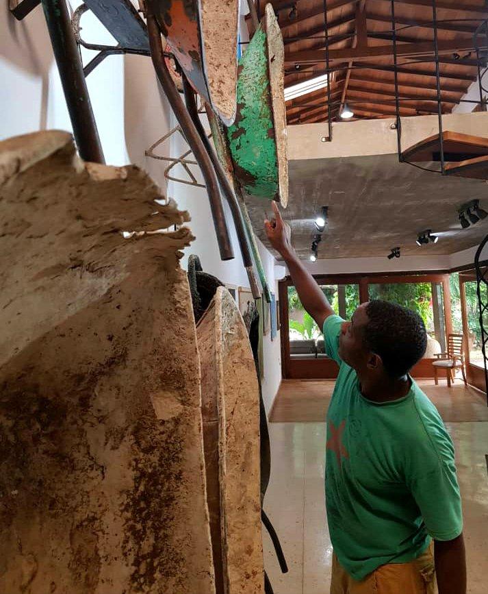 Carlos Torres Cairo-exposición Renuencia-instalación
