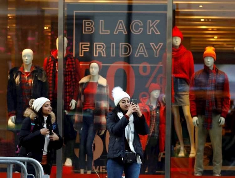 Black Friday en Nueva York. Foto: EFE.