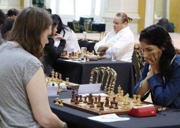 La canadiesne Maili-Jade Ouellet fue la campeona del certamen y con ello ganó también el cupo a la Copa Mundial de 2020, que estaba en discusión en la lid. Foto: www.binoticias.com