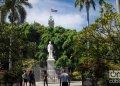 Plaza de Armas, en el centro histórico de La Habana, el 4 de noviembre de 2019. Foto: Otmaro Rodríguez.