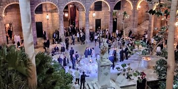 Palacio de los Capitanes Generales-la habana-cena oficial-reyes de españa
