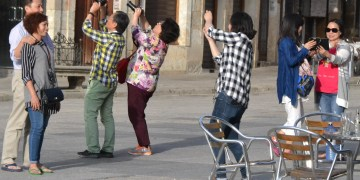 Turistas chinos. Foto: Getty Images.