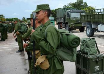 Jóvenes cubanos en el servicio militar. Foto: TV Yumurí / Archivo.