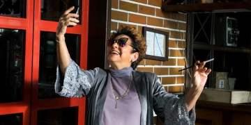 Daysi Granados, en Habana Selfies, de Arturo Santana. Foto: habanaselfiesfilm.com