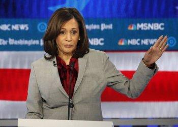 La senadora Kamala Harris. Foto: John Bazemore/AP.