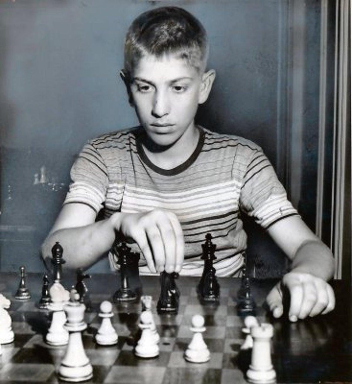 Bobby Fischer, el niño genio.
