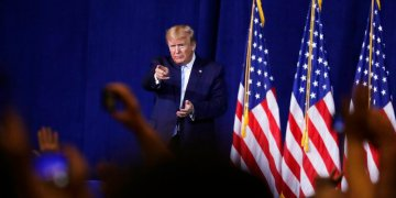 El presidente Donald Trump durante un evento el viernes 3 de enero de 2020. Foto: Evan Vucci / AP.