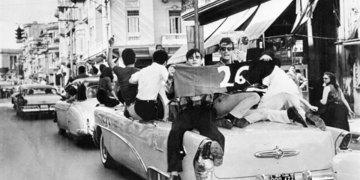 Primero de enero de 1959 en Infanta y San Lázaro.