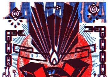 Fragmento de póster del estudio de arte corporal La Marca, en sus 5 años de fundado.
