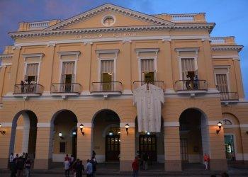 El teatro Sauto. Foto: Roberto Jesús Hernández/acn.