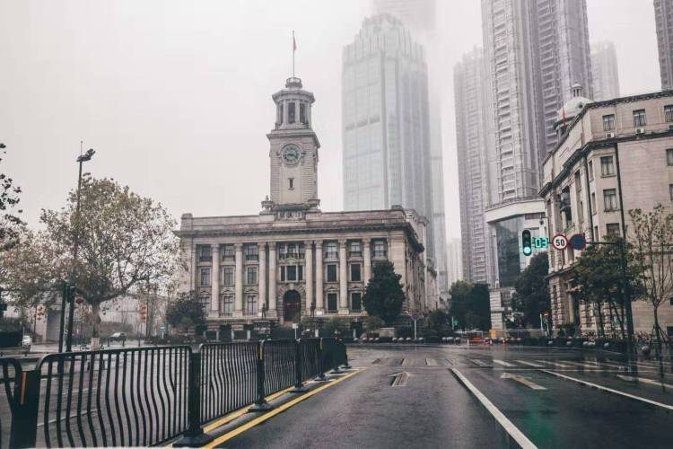 La ciudad china de Wuhan. Foto: @WillySier/Twitter.