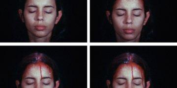 """Obra """"Sweating Blood"""", de la fallecida artista cubana Ana Mendieta. Foto: thestudio.uiowa.edu"""