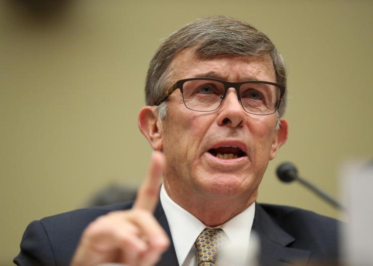 El ex director interino de Inteligencia Nacional, Joseph Maguire. Foto: Kcur.