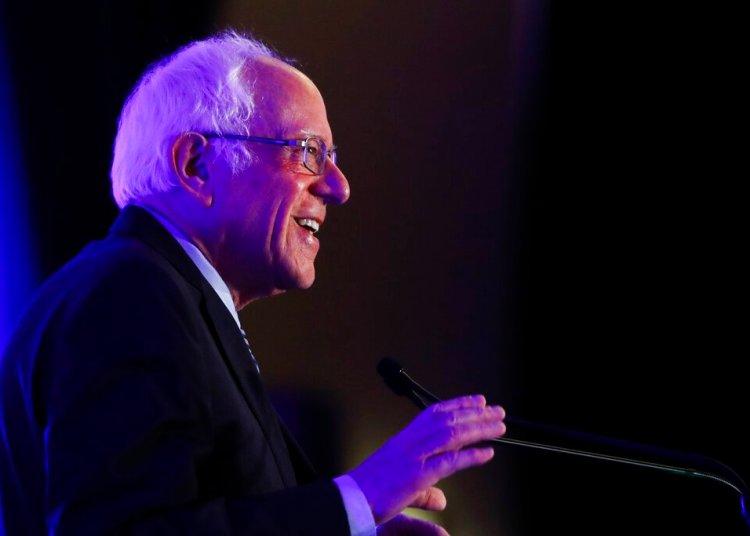 Bernie Sanders en un evento en Charleston, Carolina del Sur, el 24 de febrero del 2020. Foto: Matt Rourke/AP.