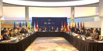 Reunión del llamado Grupo de Lima en Ottawa, Canadá, el 20 de febrero de 2020. Foto: noticiasporelmundo.com