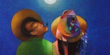 Pintura de José A. Oliva.