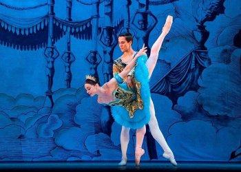 Los primeros bailarines cubanos Viengsay Valdés y Dani Hernández. Foto: Ballet Nacional de Cuba / Facebook.
