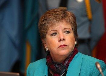 La secretaria ejecutiva de la Comisión Económica para América Latina y el Caribe (Cepal), Alicia Bárcena. Foto: Cepal.