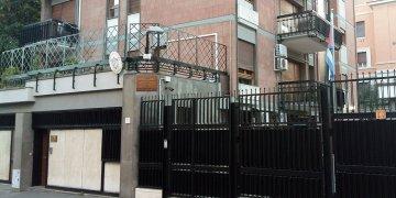 Sede del Consulado General de Cuba en Roma. Foto: misiones.minrex.gob.cu