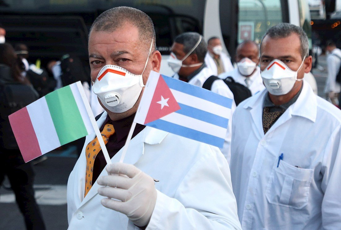 Solicitan en Italia regreso de los médicos cubanos ante rebrote de la Covid-19