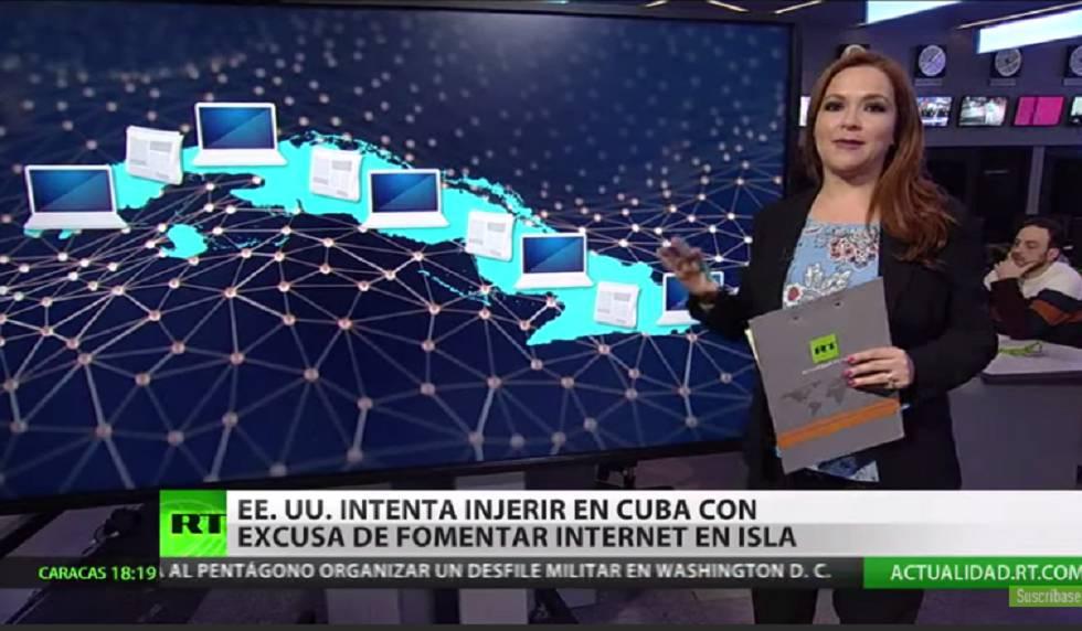 Este Lunes inicia Transmisión de RT en Español en Cuba