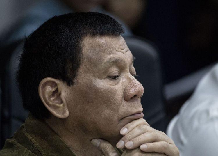 El presidente filipino, Rodrigo Duterte. Foto: Bloomberg.