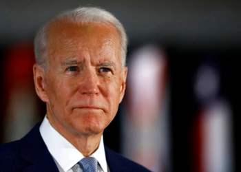 El candidato presidencial demócrata Joe Biden en conferencia de prensa en Filadelfia el pasado 10 de marzo.  Foto: Matt Rourke/AP.