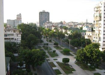 Calle G, en El Vedado. Foto: Wikipedia