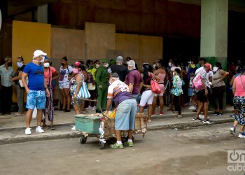 La Habana reportó la totalidad de los casos de coronavirus en Cuba por segundo día consecutivo, en su mayoría asociados a eventos de transmisión en tres centros laborales de la ciudad. Foto: Otmaro Rodríguez