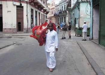 Imagen común en el barrio chino de La Habana. /Foto Alain L Gutiérrez