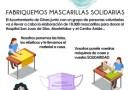 Máscaras de Luz, un proyecto del Ayuntamiento de Gines para elaborar 10.000 mascarillas contra el coronavirus