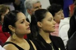 Catalina Ruíz y Ana Lilia de Sandoval
