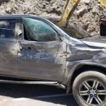 Congresista Edgar Alarcón sufrió accidente de tránsito en Arequipa (videos-fotos)