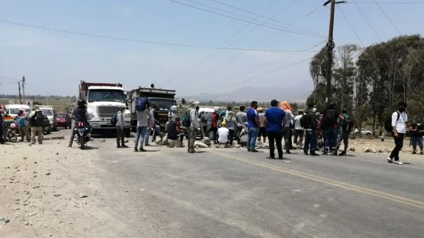 Falleció manifestante en Virú