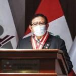 Presidente del JNE suspendió al fiscal Luis Arce como miembro titular del pleno de este organismo