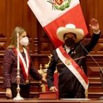 Pedro Castillo Terrones juró hoy como presidente constitucional de la República