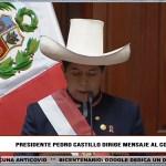 Pedro Castillo: Lo más importantes que deja en su primer Mensaje