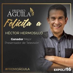 2. Mejor Presentador de Televisión Héctor Hermosillo – Club700 Hoy