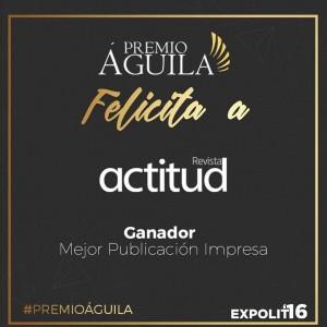 12.Mejor Publicación Impresa Revista Actitud Ciudad de Guatemala, Guatemala
