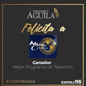 3. Mejor Programa de Televisión Mundo Cristiano San José, Costa Rica